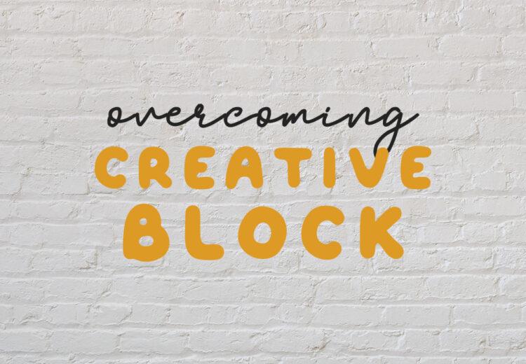 overcoming creative block