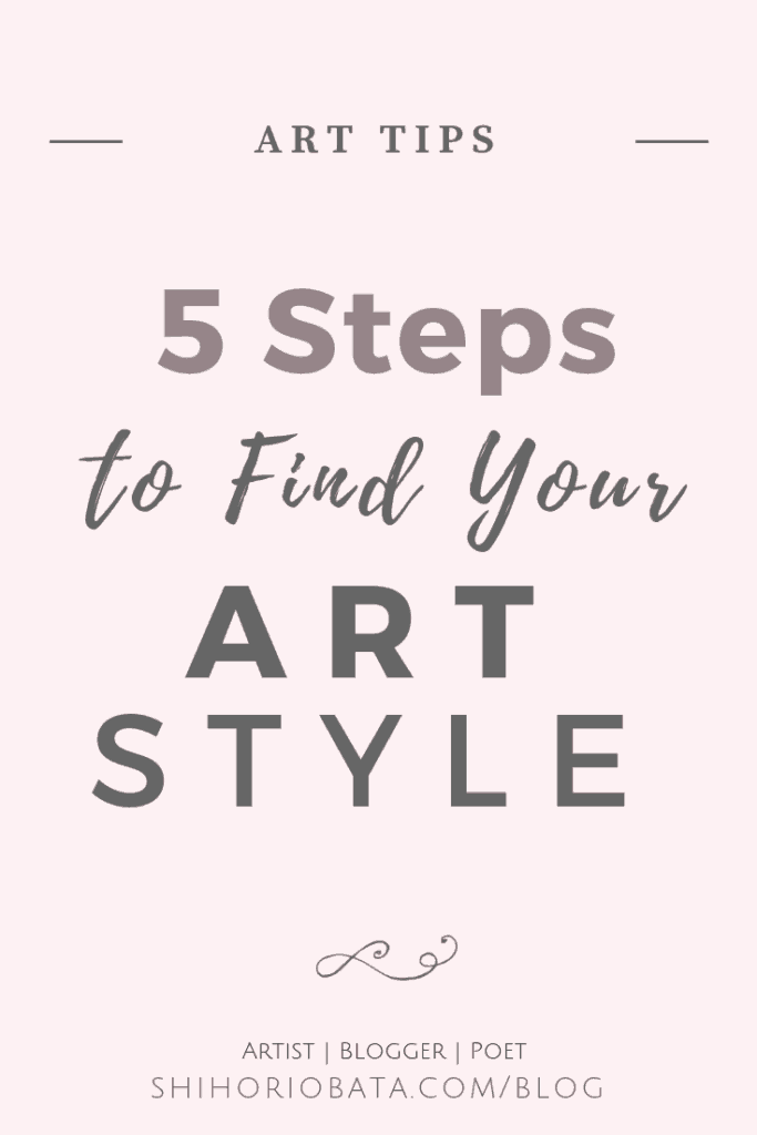 How to Find Your Art Style: Artist tips