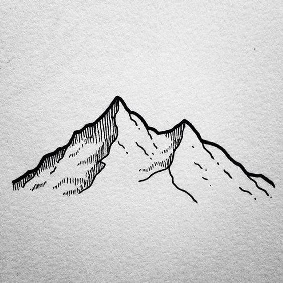 Mountain Drawing