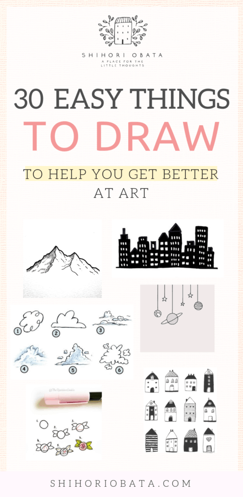 30 Things to Draw to Get Better At Art