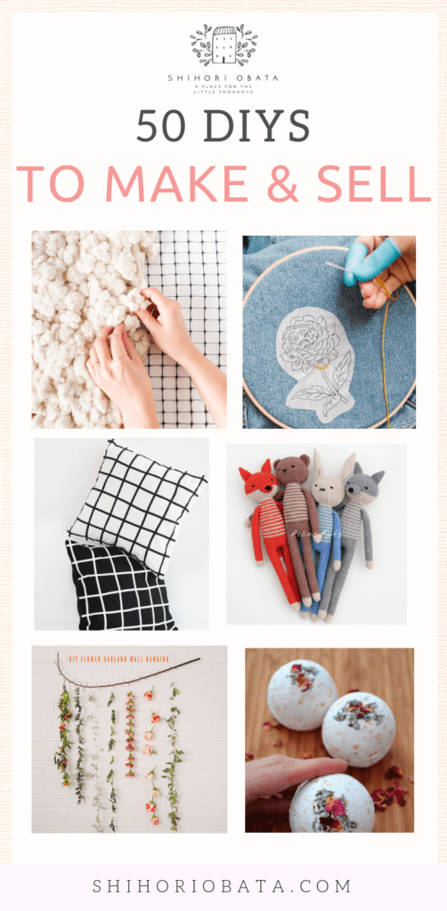 DIY Craft Ideas to Make and Sell