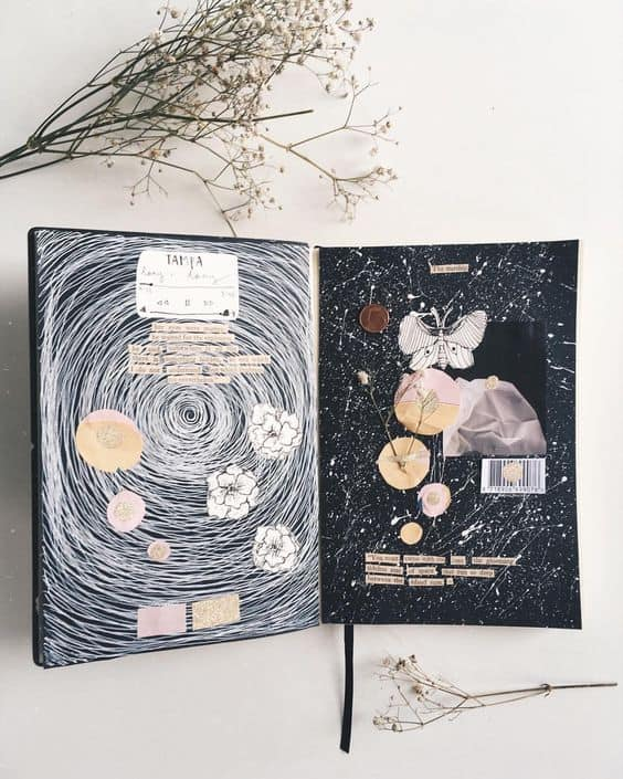 Art Journal by @mereljournals