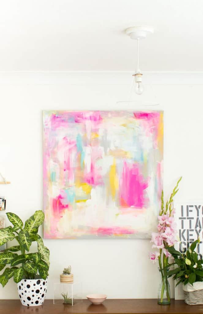 Abstract Painting DIY