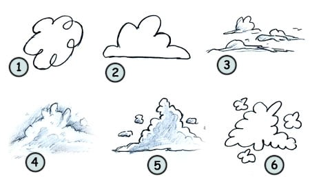 How to Draw Clouds