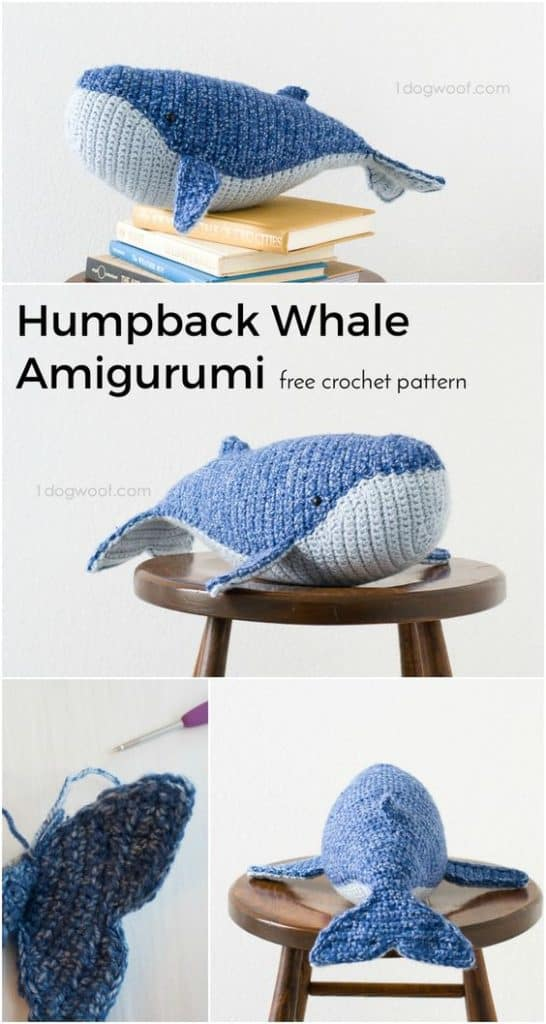 Free Crochet Whale Pattern - Craft to make
