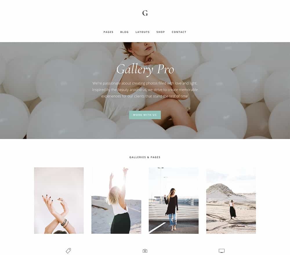 Gallery Pro WordPress Theme