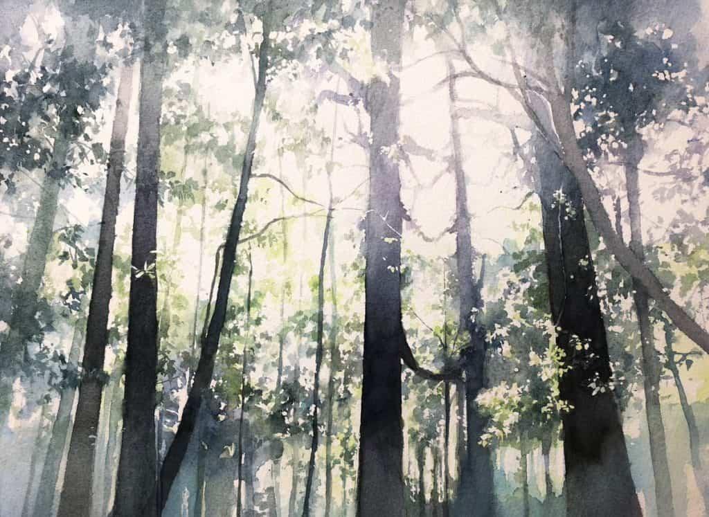 Landscape Painting by Ryohei Toyonaga