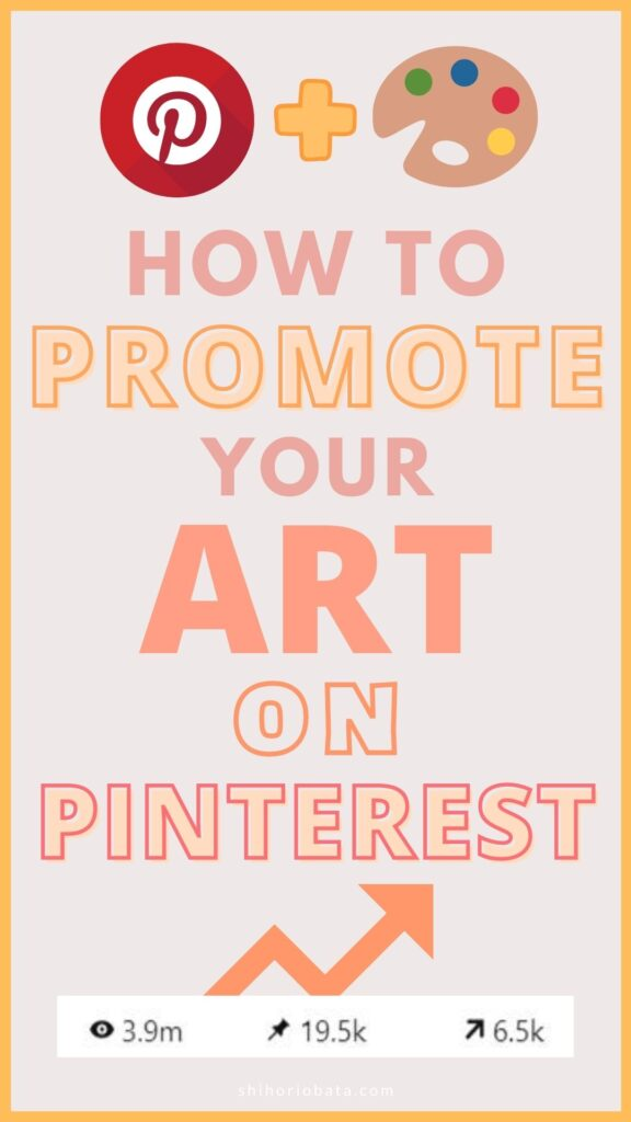 how to promote your art on pinterest