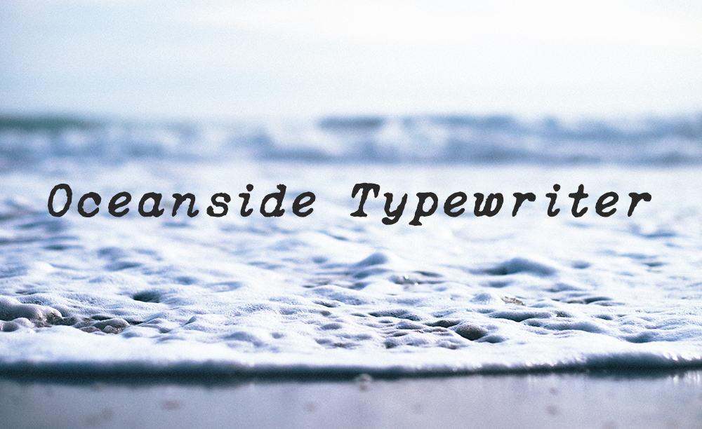 Typewriter Font Free - Oceanside Typewriter