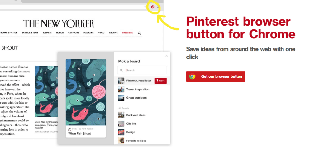 Promote your art on Pinterest