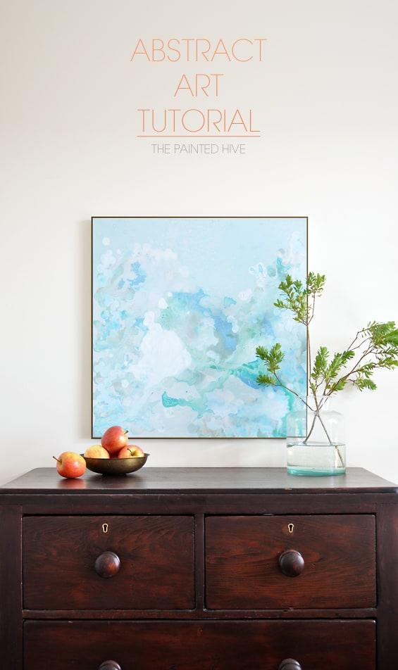 DIY Abstract Art Tutorial