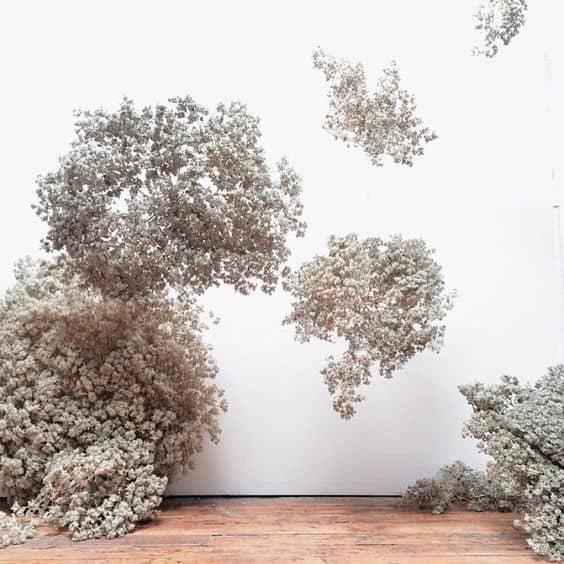 Wedding Floral Installation White