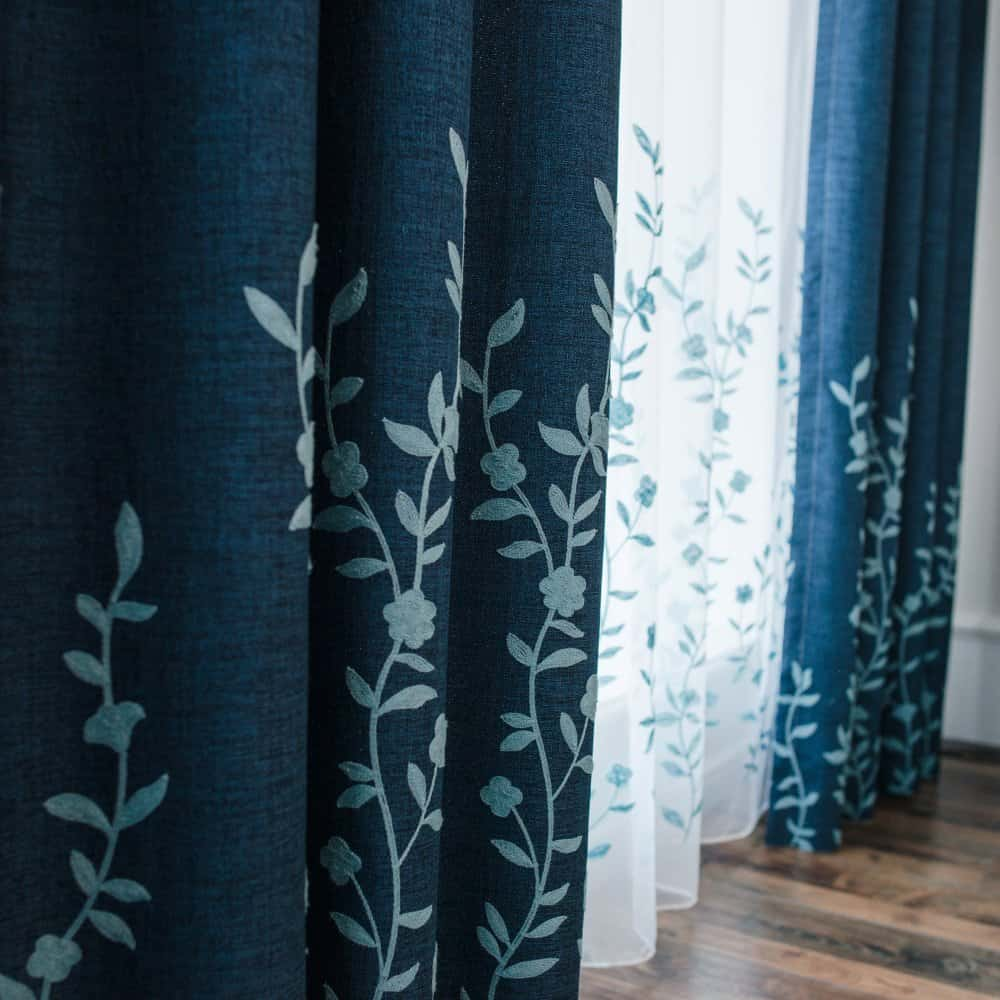 Sheer Floral Curtain - Amazon Home Decor Finds