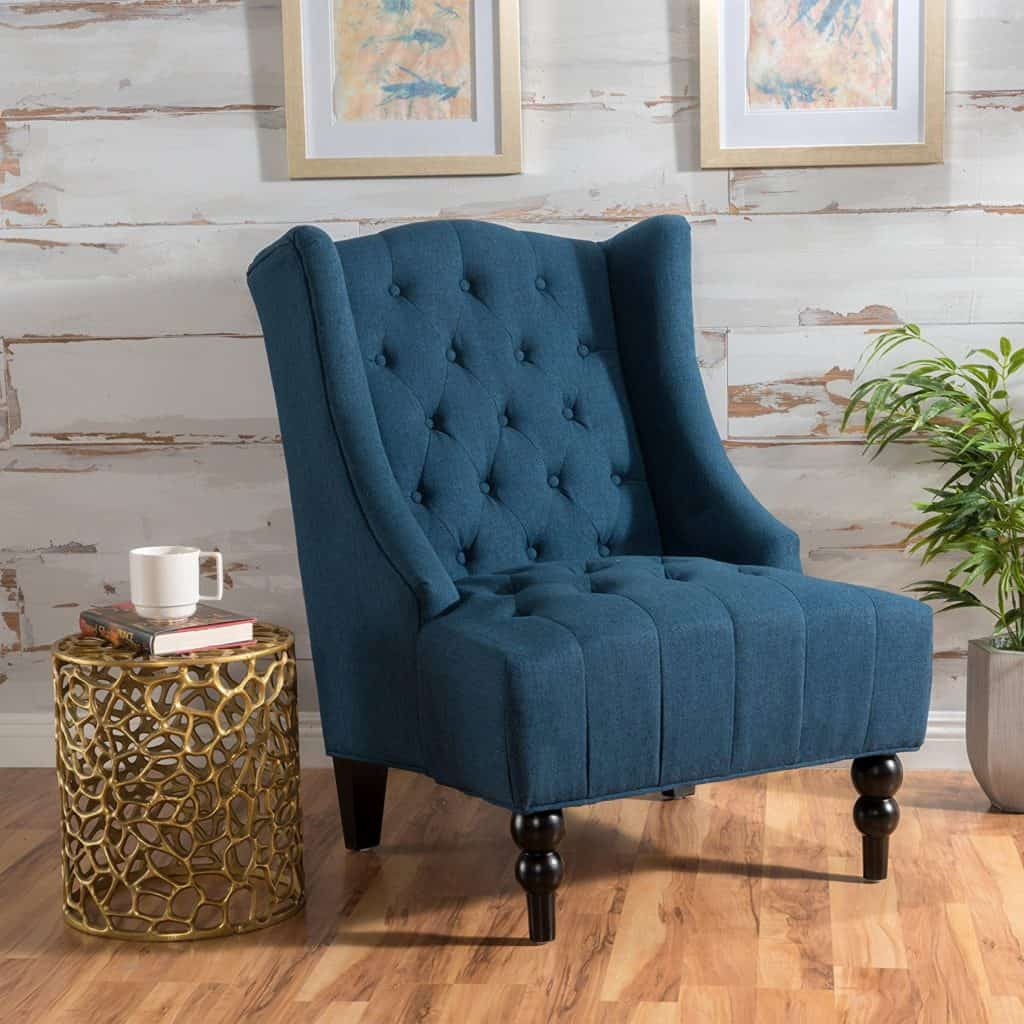 Blue Chair - Amazon Home Decor Finds