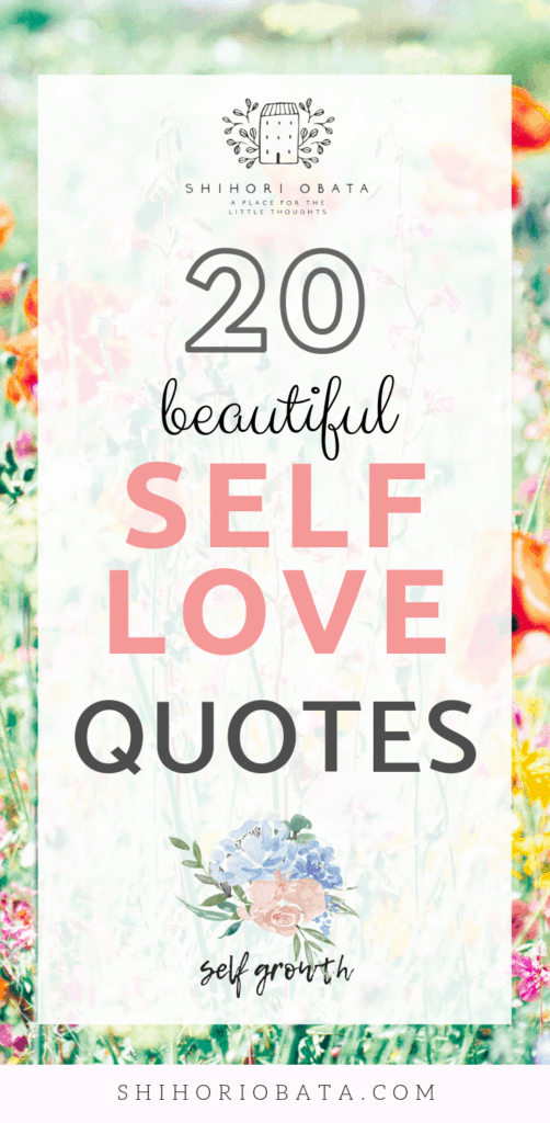 20 Self Love Quotes for Self Growth