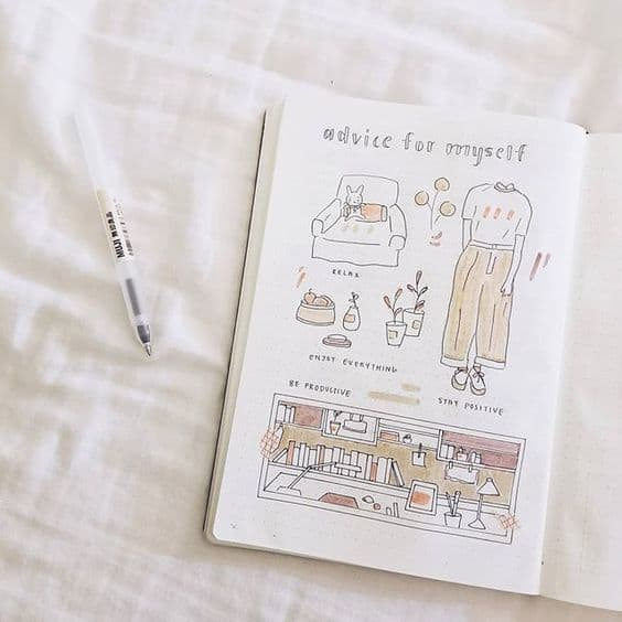 Self Care Bullet Journal Ideas