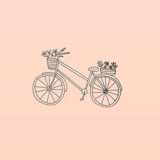 Ryn Frank Bike Doodle - Bullet Journal Doodle
