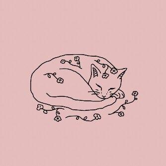 Cat Doodle Bullet Journal