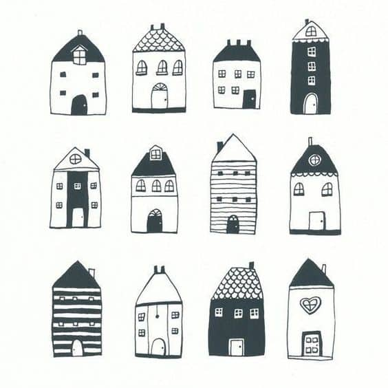 Things to Draw - House Drawing