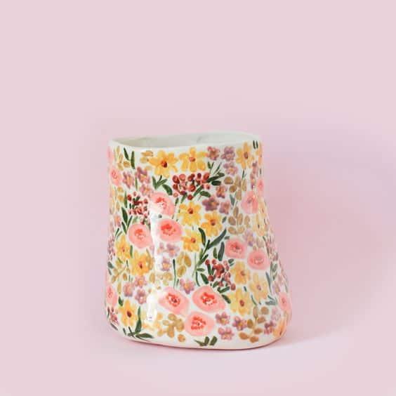 Floral Ceramic Pottery