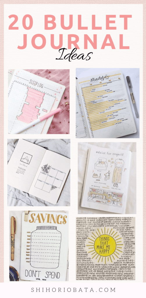 Bullet Journal Spread Ideas #bulletjournal