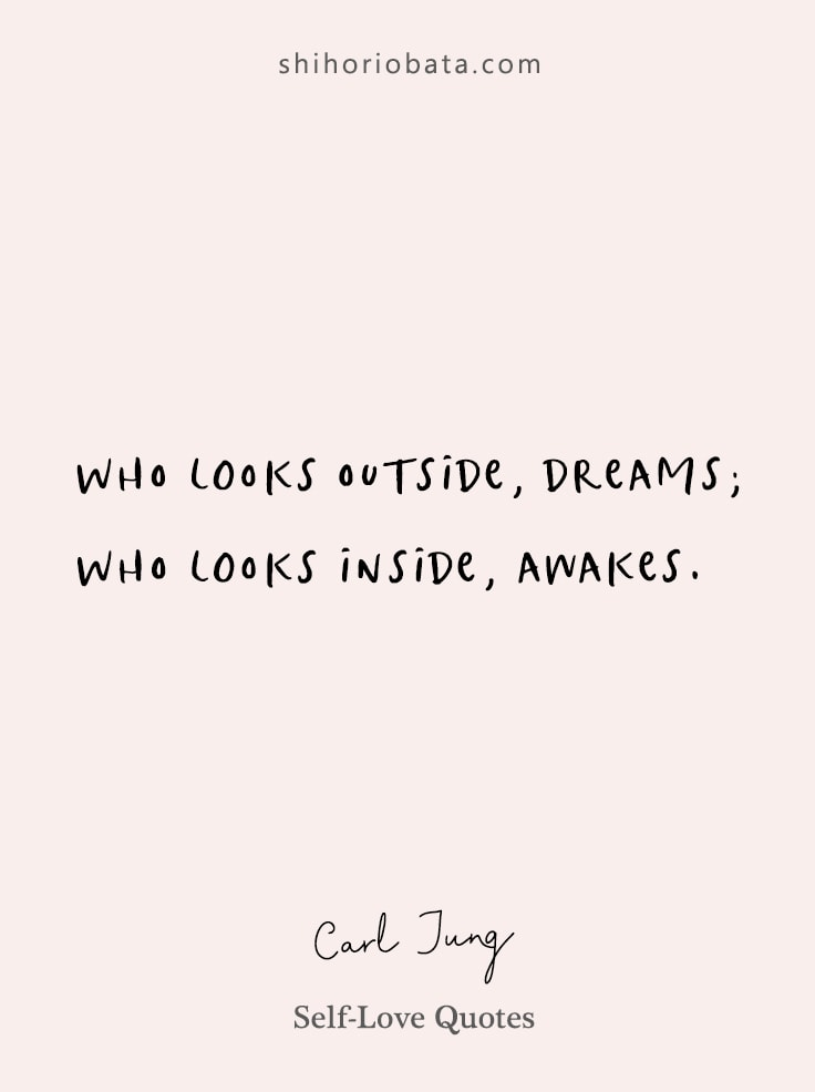 Carl Jung Quotes Self Love