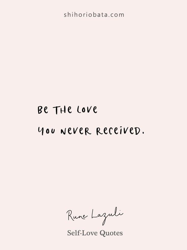 Self Love Quotes
