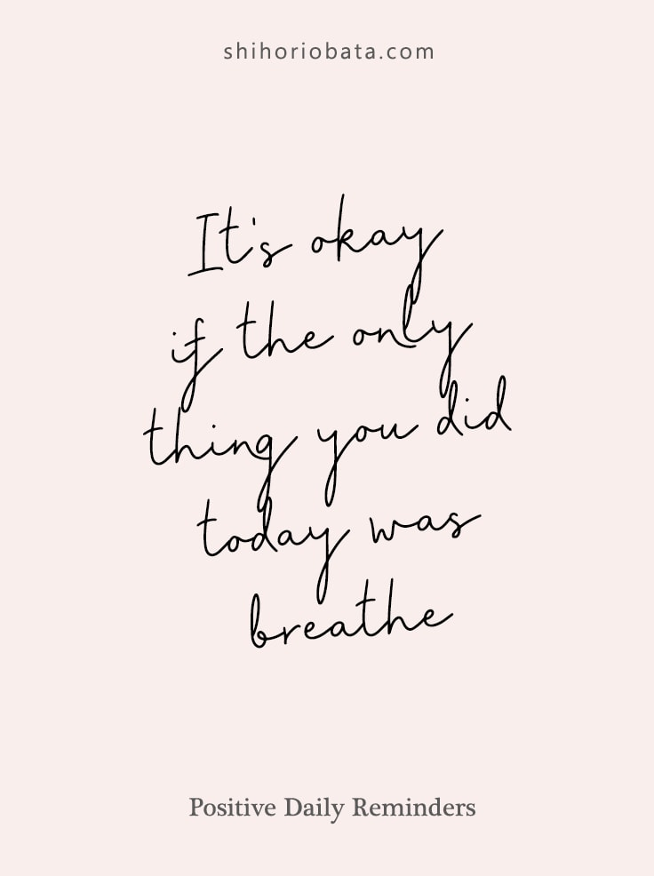 Positive Daily Reminders