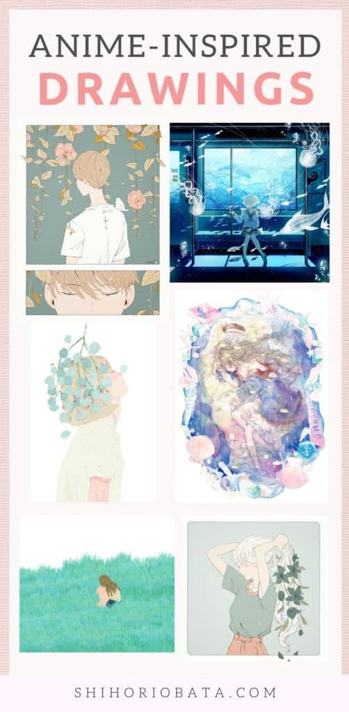Anime Drawings and Illustration Inspiration #anime #drawings #art