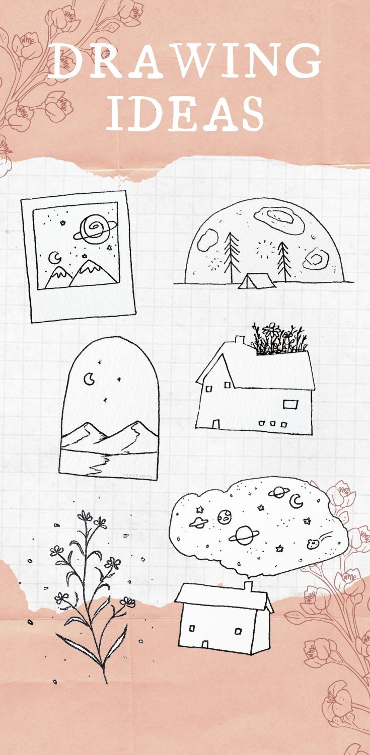15 Easy Drawing Ideas - Things to Draw