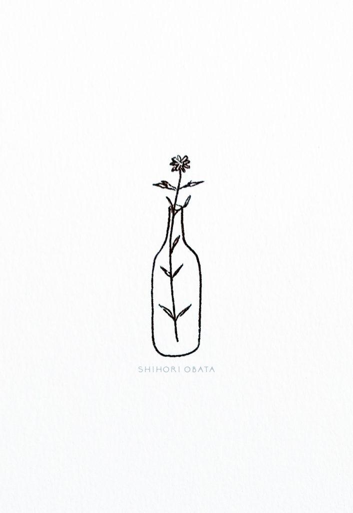 Flower in Vase Doodle