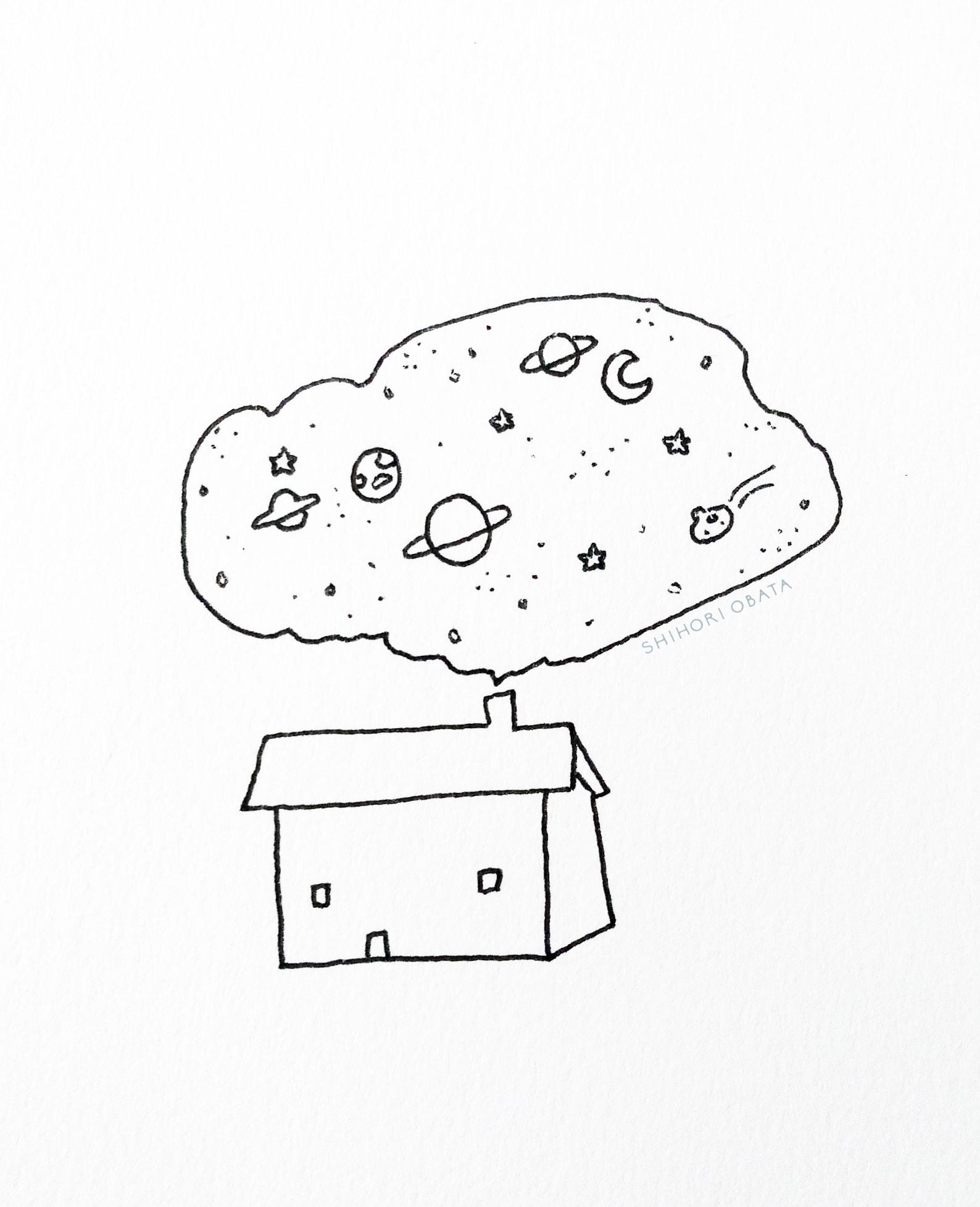 House Drawing Idea