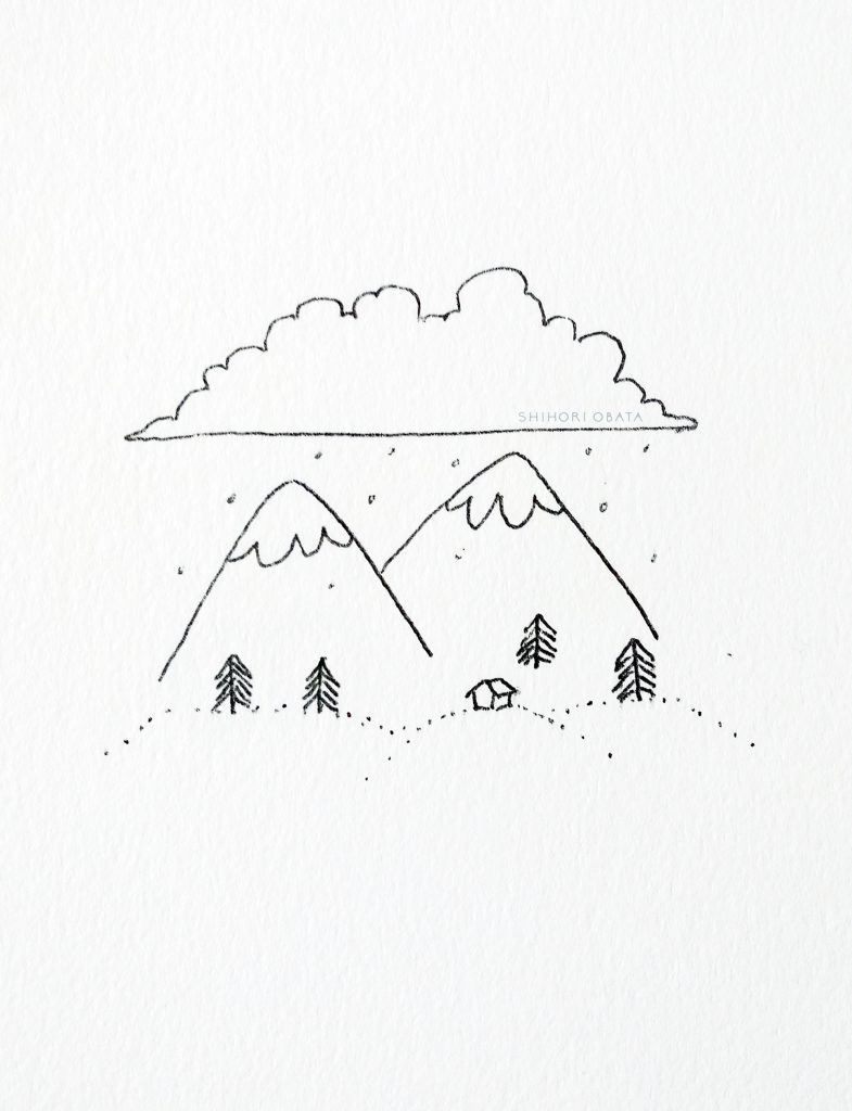 Mountain Drawing Ideas
