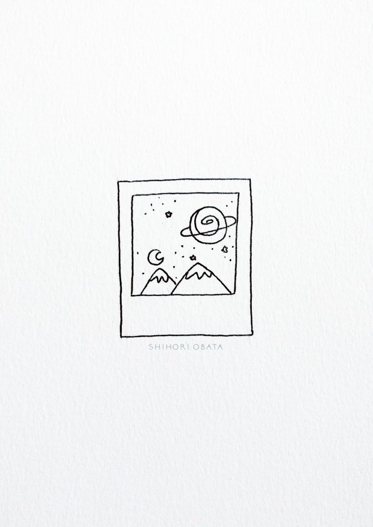 Polaroid and Space Drawing