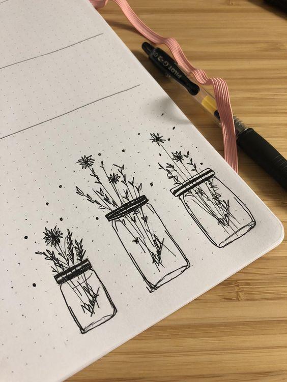 Flowers in Jars
