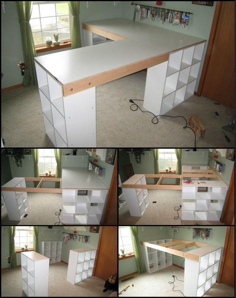 DIY Large Desk Organizer for Office