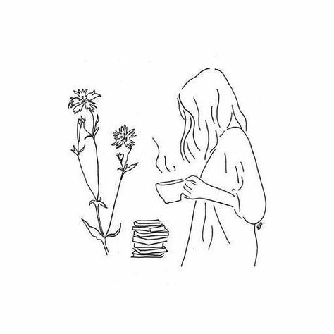 Girl Drawing Idea