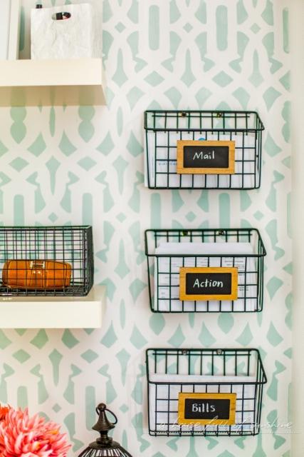 Home Organization Ideas - Baskets