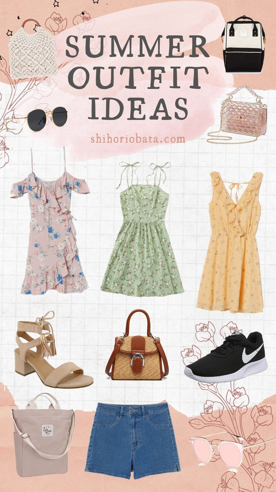 Summer Outfit Ideas #fashion