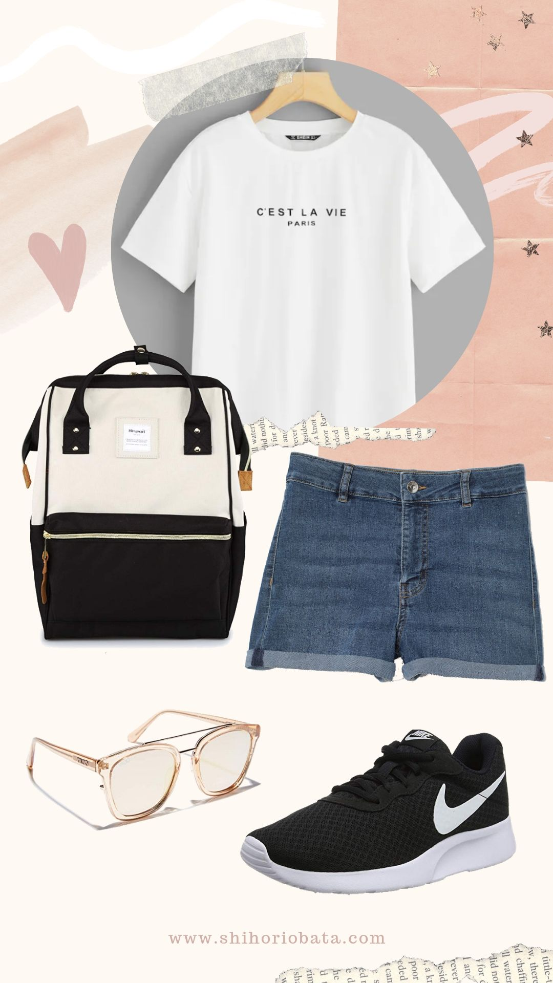 Casual Black and white outfit