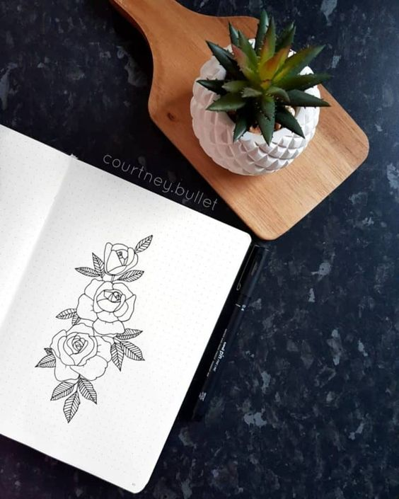 Floral Drawing Ideas