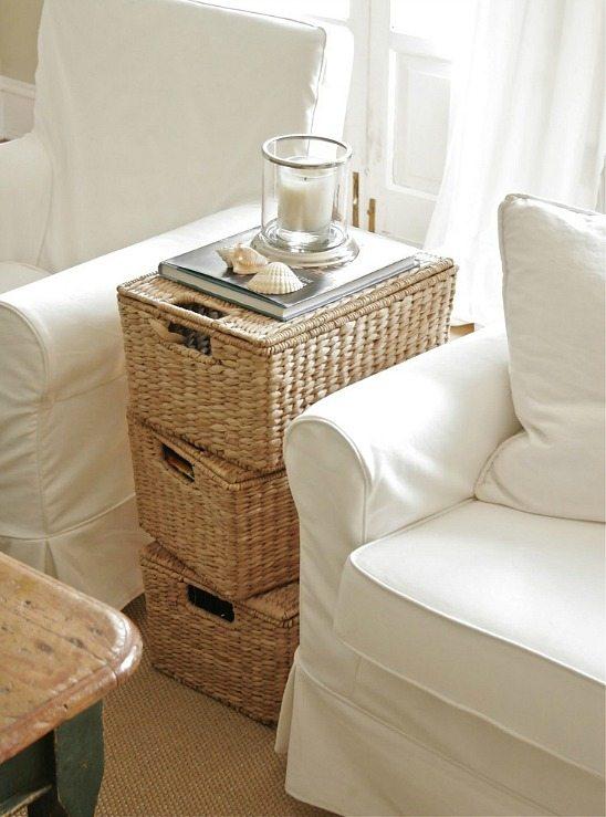 Basket Storage Ideas Organization