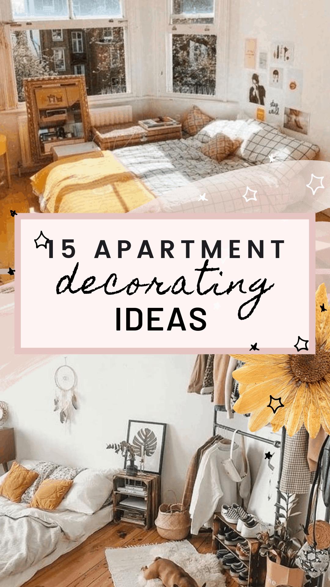 15 Cozy Apartment Decorating Ideas