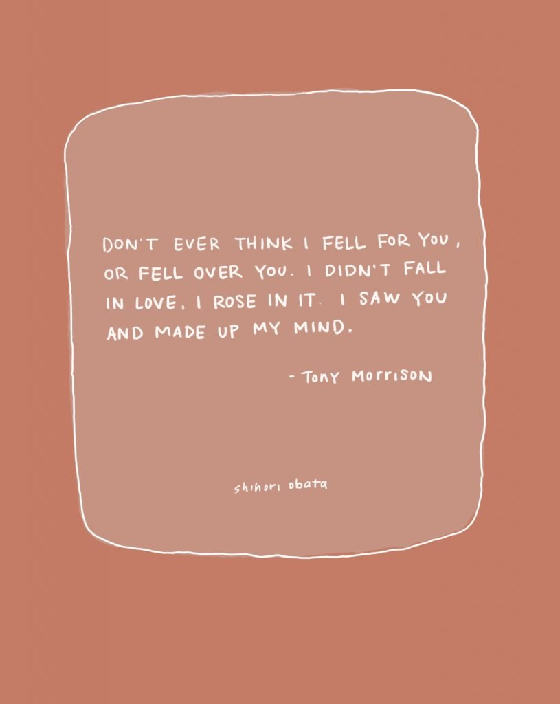 don't ever think i fell for you
