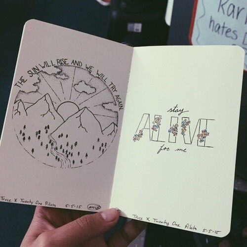 Drawing Ideas for Notebook