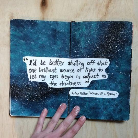 Art Journal Quotes Ideas