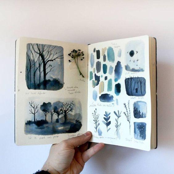 Art Journal Ideas for Notebook