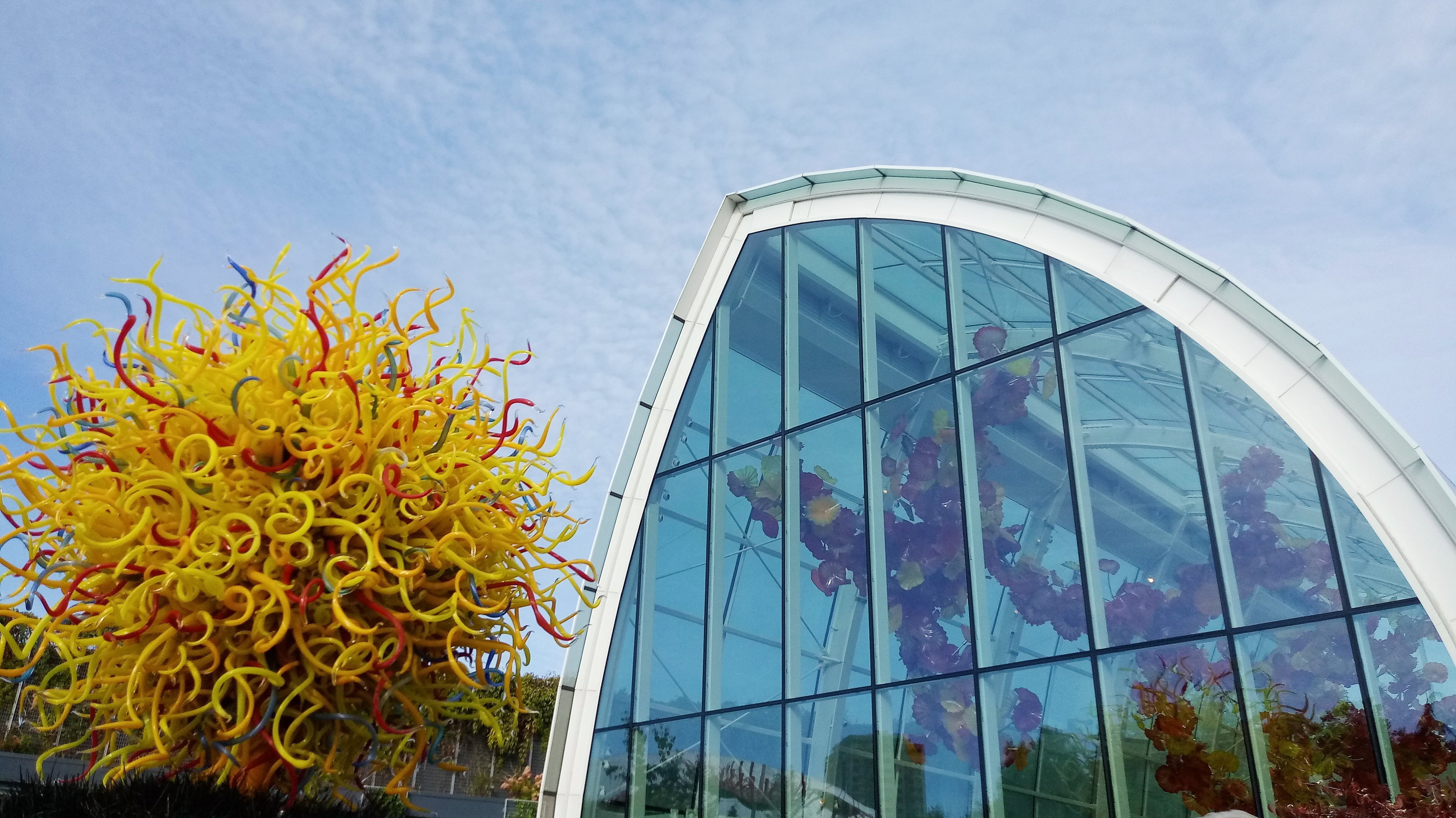 Seattle Travels - Chihuly Glass Museum
