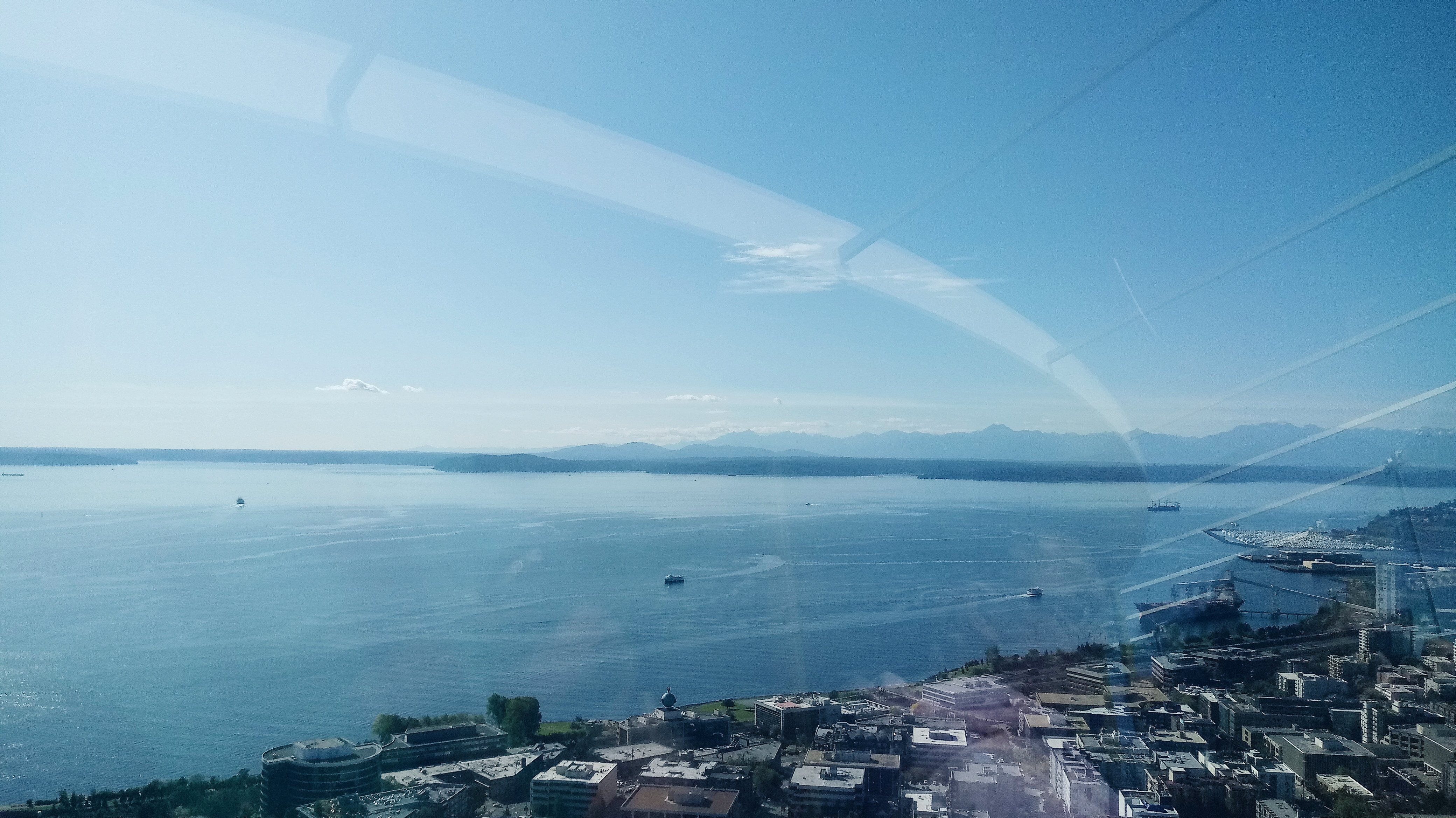 Seattle Space needle View
