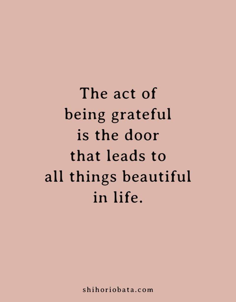 being grateful quote #gratitude